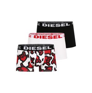 DIESEL Boxerky 'DAMIEN'  bílá / červená / černá