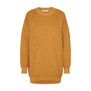 basic apparel Maxi svetr 'Kela'  žlutá