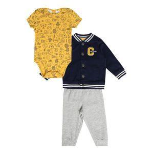 Carter's Pyžamo 'Cardigan Set F19 B Cardi Set Sports'  námořnická modř / šedá