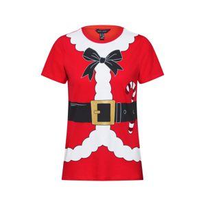 NEW LOOK Tričko  červená / černá / bílá