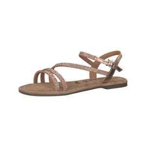 TAMARIS Páskové sandály  zlatá