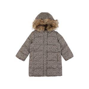 GAP Zimní bunda  hnědá / béžová / černá