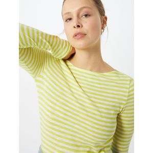 Marc O'Polo Top 'Organic / / T-SHIRTS LONG SLEEVE'  mix barev / citronová