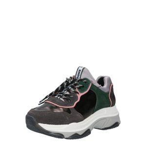 BRONX Tenisky 'BAISLEY'  růžová / šedá / zelená