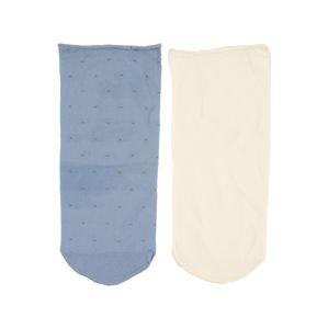 Swedish Stockings Ponožky 'Judith dots sock 2pack'  béžová / modrá
