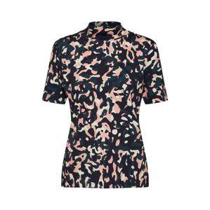 LAUREL Tričko  růžová / černá / bílá