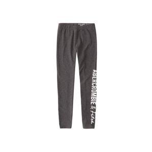 Abercrombie & Fitch Kalhoty  šedý melír
