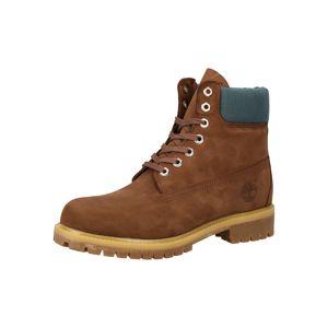 TIMBERLAND Šněrovací boty  nažloutlá / pastelová modrá