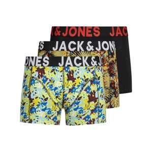 JACK & JONES Boxerky 'JACJULIAN TRUNKS 3 PACK'  mix barev