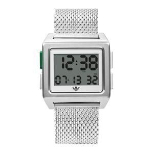 ADIDAS ORIGINALS Digitální hodinky 'Archive_M1'  stříbrná