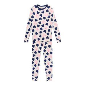 GAP Pyžamo  růžová / bílá / modrá