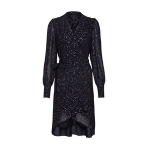 SELECTED FEMME Košilové šaty 'ANYA'  zlatá / černá