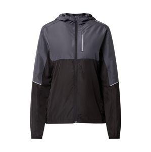 ENDURANCE Sportovní bunda 'Lassie'  černá / tmavě šedá