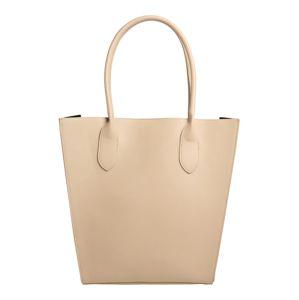 PIECES Nákupní taška 'Milian'  béžová