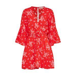BILLABONG Letní šaty 'DIVINE'  červená
