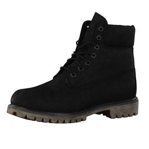 TIMBERLAND Šněrovací boty '6-Inch Premium Waterproof'  černá