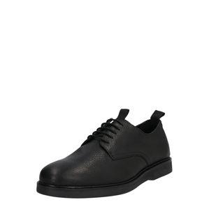 Hudson London Šněrovací boty 'BARNSTABLE'  černá