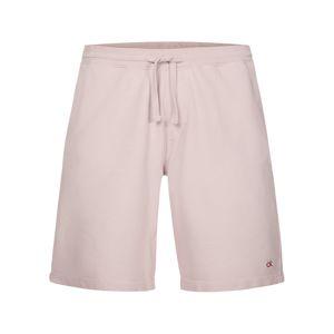Calvin Klein Kalhoty 'Terry'  pastelově růžová