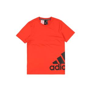 ADIDAS PERFORMANCE Funkční tričko 'B MH BOS T2'  červená / černá