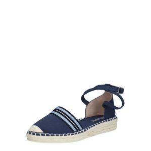 ESPRIT Sandály 'Ines'  bílá / námořnická modř / noční modrá