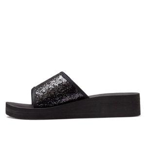 LASCANA Pantofle  černá