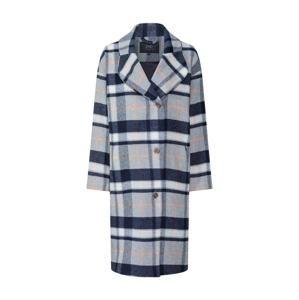 Pop Copenhagen Přechodný kabát 'Checked Cocoon Wool Coat'  modrá / šedá