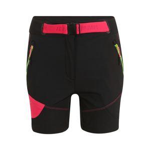 ICEPEAK Sportovní kalhoty  červená / antracitová
