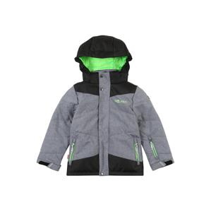 TROLLKIDS Outdoorová bunda  šedá / antracitová