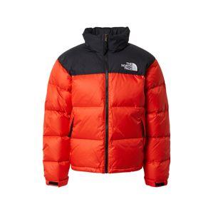 THE NORTH FACE Zimní bunda  červená / černá