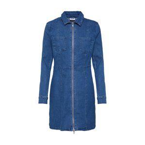 Noisy may Košilové šaty 'Lisa'  modrá džínovina