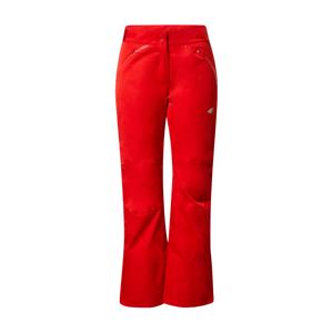 4F Outdoorové kalhoty  červená