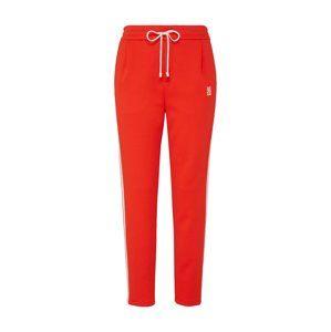 DRYKORN Kalhoty 'Level'  červená / bílá