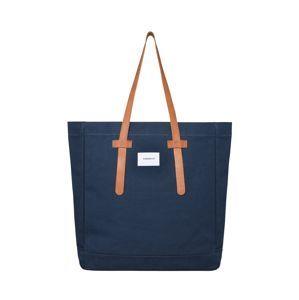 SANDQVIST Nákupní taška  modrá