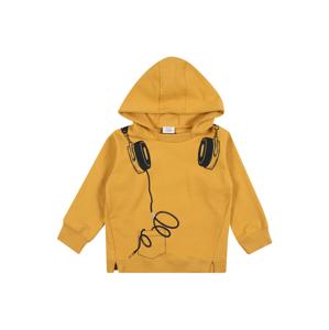 Hust & Claire Mikina 'Stone'  tmavě žlutá / černá