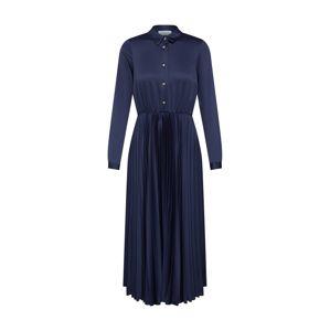 Closet London Společenské šaty 'Closet Pleated Shirt Dress'  námořnická modř