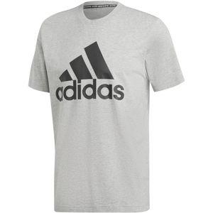 ADIDAS PERFORMANCE Funkční tričko 'MH Bos'  černá / šedý melír
