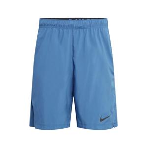 NIKE Sportovní kalhoty 'Flex'  kouřově modrá / černá