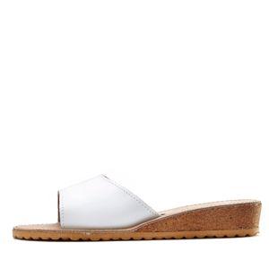 LASCANA Pantofle  bílá