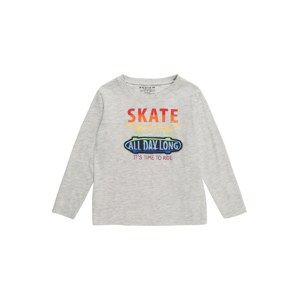 REVIEW FOR KIDS Tričko 'KB-19-T203'  šedý melír / mix barev
