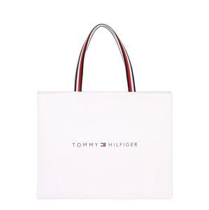 TOMMY HILFIGER Nákupní taška  bílá