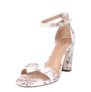 CALL IT SPRING Páskové sandály 'TAYVIA'  mix barev / bílá
