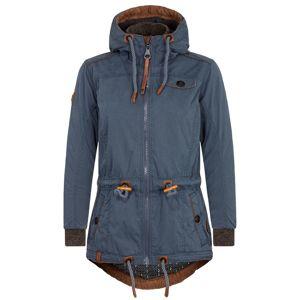 naketano Zimní bunda  kouřově modrá