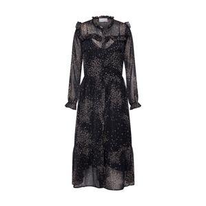 Neo Noir Košilové šaty 'Lena Printed Dress'  šedá / černá