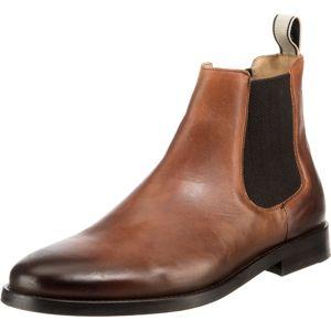 GANT Chelsea boty 'Max'  černá / hnědá