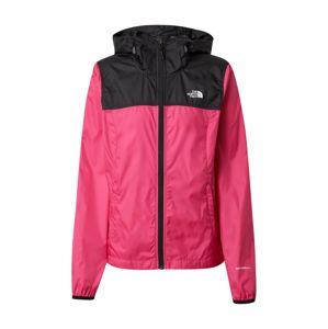 THE NORTH FACE Sportovní bunda  černá / pink