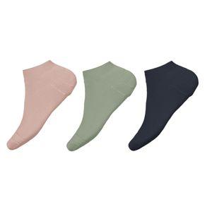 NAME IT Ponožky 'Vira'  pastelově zelená / růžová / námořnická modř