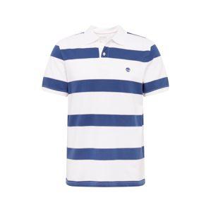 TIMBERLAND Tričko  modrá / bílá