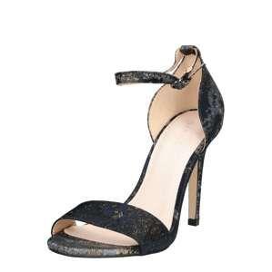 Bianco Páskové sandály  zlatá / šedá