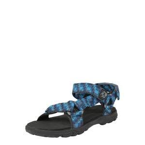 JACK WOLFSKIN Otevřená obuv 'Seven Seas 2'  modrá / černá