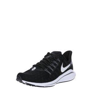 NIKE Běžecká obuv 'Air Zoom Vomero 14'  černá / bílá